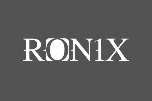 """Ronix 24"""" Boat Decal - White"""